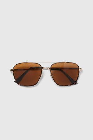 Zara Sluneční brýle s kovovými rámečky