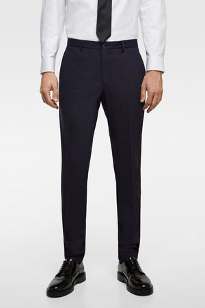 Zara Oblekové kalhoty chintz comfort