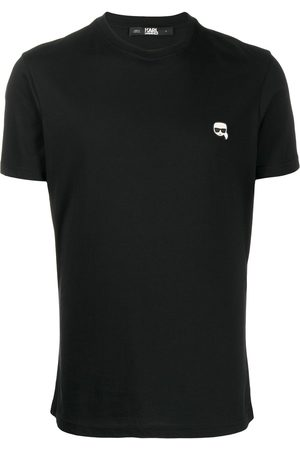 Karl Lagerfeld Small logo patch T-shirt