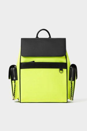 Zara Neonový sportovní batoh