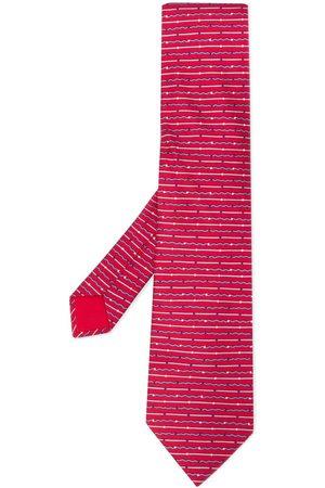 Hermès Silk 2000s wavy striped tie