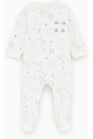 Zara Sametové pyžamo s potiskem