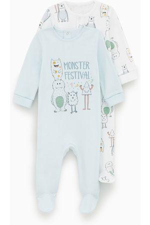 Zara Balení dvou pyžam s příšerkami
