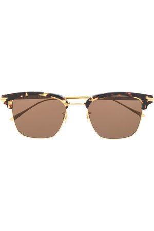 Bottega Veneta Eyewear BV1007SK clubmaster-frame sunglasses