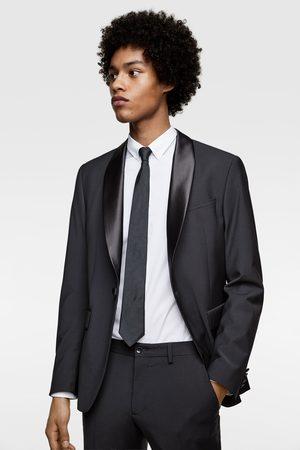 Zara Smokingové oblekové sako