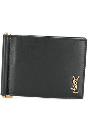 Saint Laurent Monogram money clip wallet