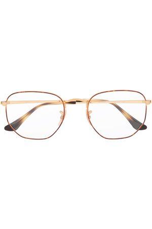 Ray-Ban Sluneční brýle - Two-tone hexagonal frame sunglasses