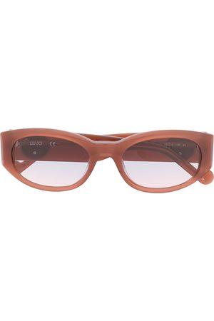 Liu Jo Slim oval eye frame sunglasses