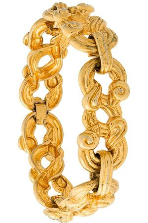 SONIA RYKIEL 1980s horseshoe motif bracelet