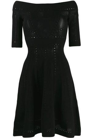 Dsquared2 Off-shoulder knitted dress