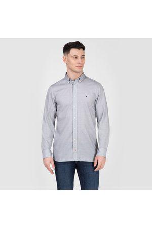 Tommy Hilfiger Muži Košile - Pánská košile s tmavě modrým proužkem
