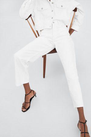 Zara Manšestrové kalhoty wide leg