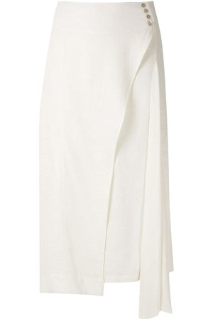 Olympiah Ylang asymmetric midi skirt