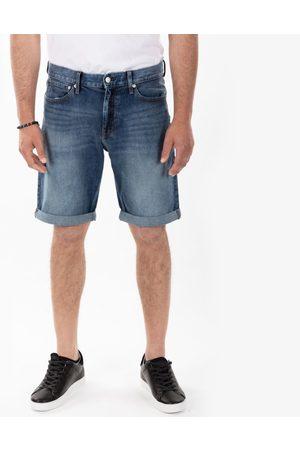 Calvin Klein Muži Šortky - Pánské modré džínové šortky