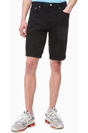 Calvin Klein Muži Šortky - Pánské černé džínové šortky