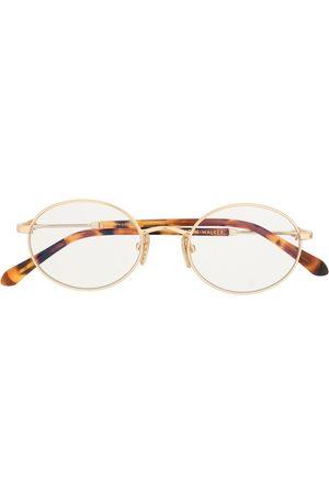 Karen Walker Ada oval frame glasses