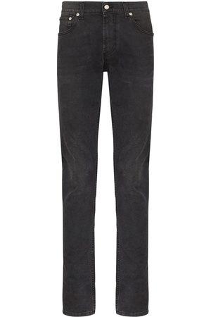 Alexander McQueen Mid-rise slim-leg jeans