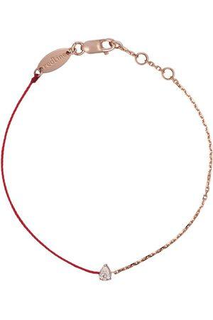 Redline Ženy Náramky - 18kt yellow gold Altesse diamond silk cord bracelet
