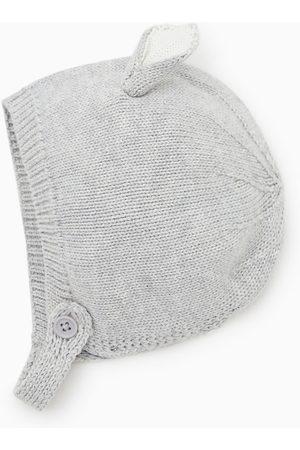 Zara Čepice - úpletová čepice s oušky