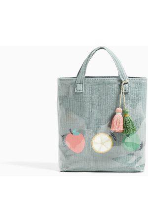 Zara Kabelky - Vinylová mini kabelka shopper s ovocem