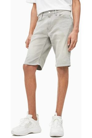 Calvin Klein Pánské šedé džínové šortky