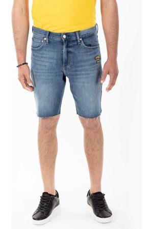 Calvin Klein Pánské modré džínové šortky
