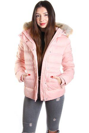 Calvin Klein Ženy Bundy - Dámská starorůžová zimní bunda