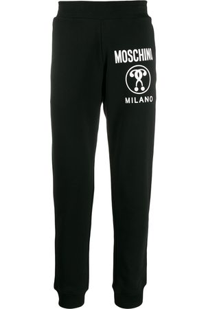 Moschino Question logo track pants
