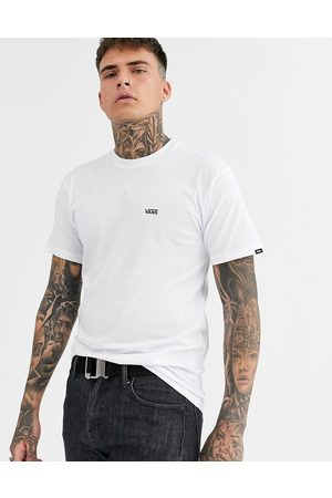 Vans Muži S krátkým rukávem - T-shirt with small logo in white