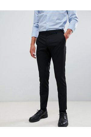 Burton Muži Chino - Skinny fit smart trousers in black