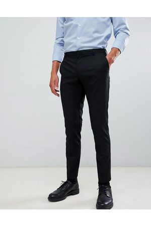 Burton Skinny fit smart trousers in black