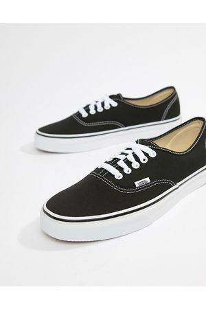 Vans Authentic plimsolls in black