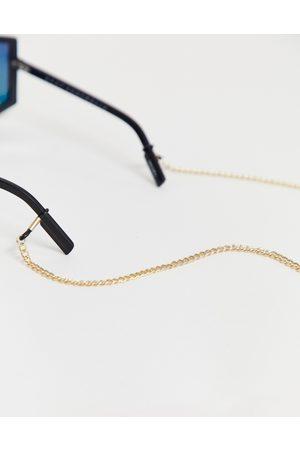 ASOS Muži Sluneční brýle - Sunglasses chain in gold tone