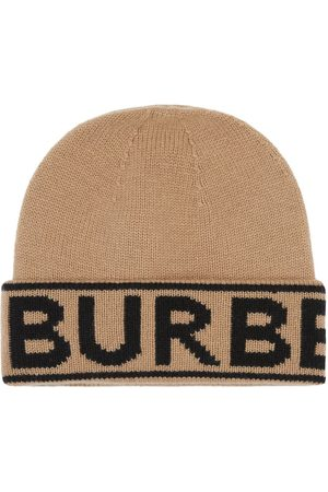 Burberry Logo intarsia beanie