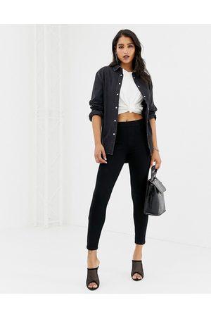 Spanx Ženy Skinny - Ankle grazer jean-ish leggings-Black