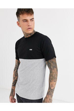 Vans Colour block t-shirt in grey