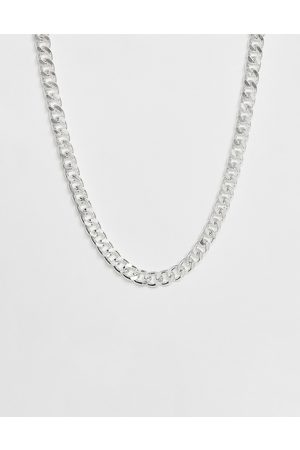 ASOS Short chunky chain in silver tone