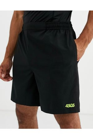 ASOS Icon training shorts with quick dry in black