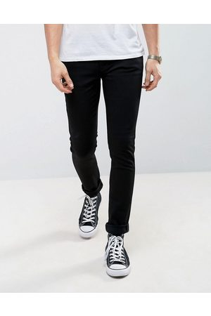 Nudie Jeans Co Skinny Lin skinny fit jeans in black