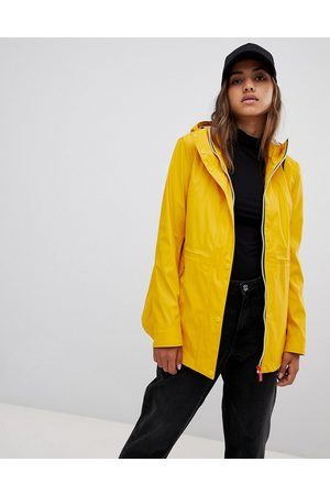 Hunter Ženy Pláštěnky - Lightweight rubberised yellow rain mac