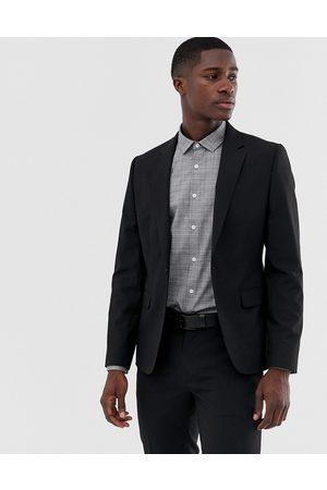 ASOS Muži Saka - Skinny suit jacket in black