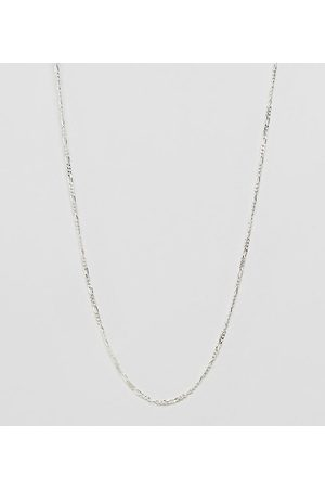 DesignB London Muži Náhrdelníky - DesignB chain necklace in sterling silver exclusive to asos