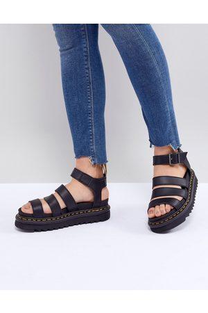 Dr. Martens Vegan Blaire chunky sandals in black