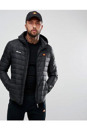Ellesse Muži Péřové bundy - Lombardy padded jacket in black