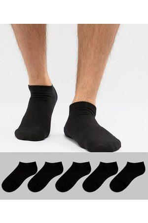 Jack & Jones Trainer socks 5 pack in black