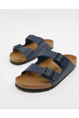 Birkenstock Arizona birko-flor sandals in blue