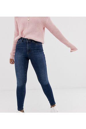 Vero Moda Skinny shape up jeans in dark blue