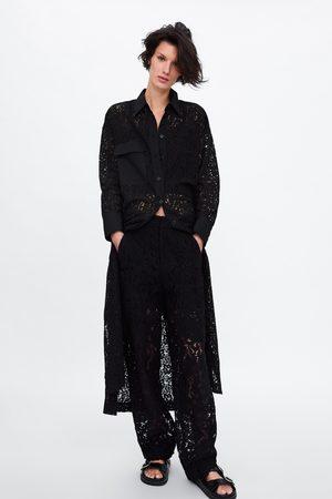Zara Tunika s krajkou a kapsou