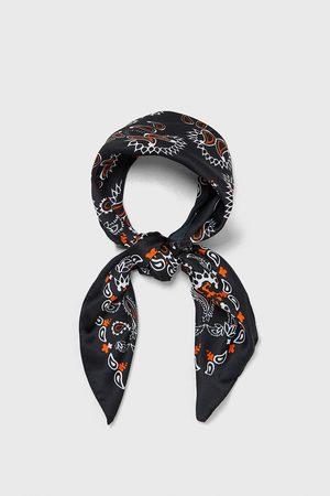 Zara šátek bandana s potiskem