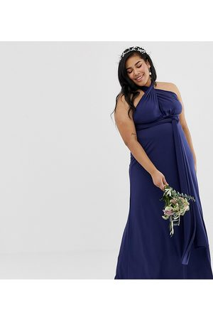 TFNC Ženy Maxi - Bridesmaid exclusive multiway maxi dress in navy